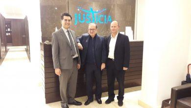 Photo of With his excellency Me. Kareem Pakradouni